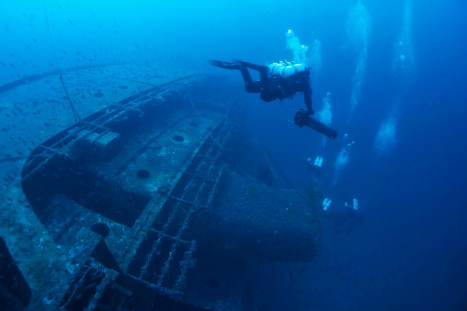 The Giannutri wrecks